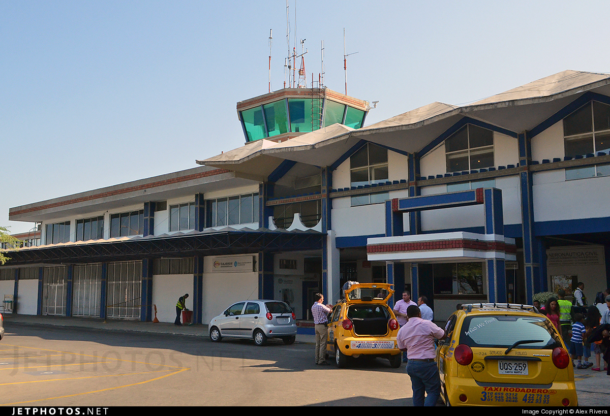 SKSM - Airport - Control Tower