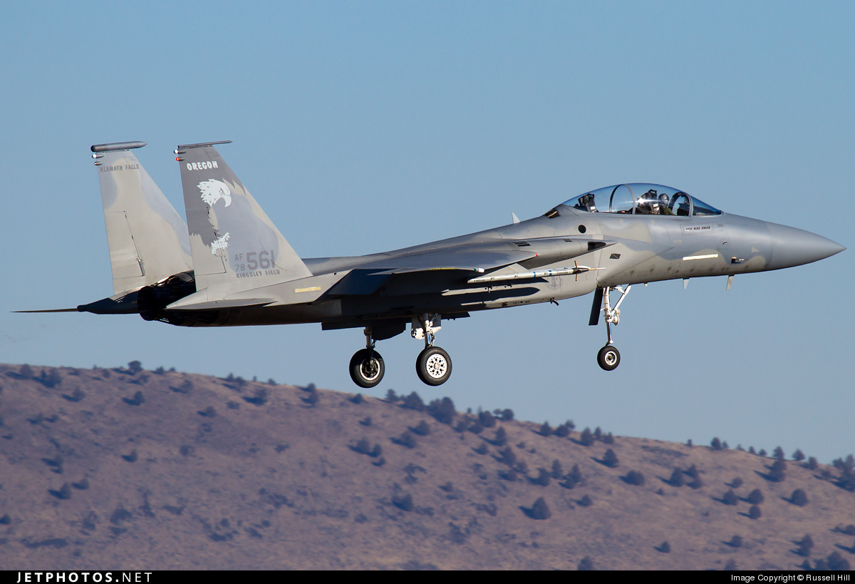 78-0561 - McDonnell Douglas F-15D Eagle - United States - US Air Force (USAF)