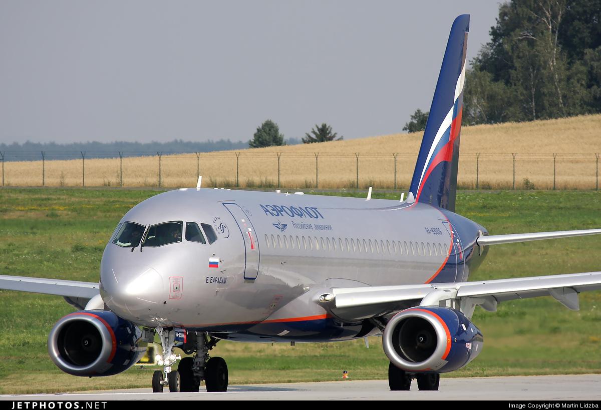 RA-89006 - Sukhoi Superjet 100-95B - Aeroflot