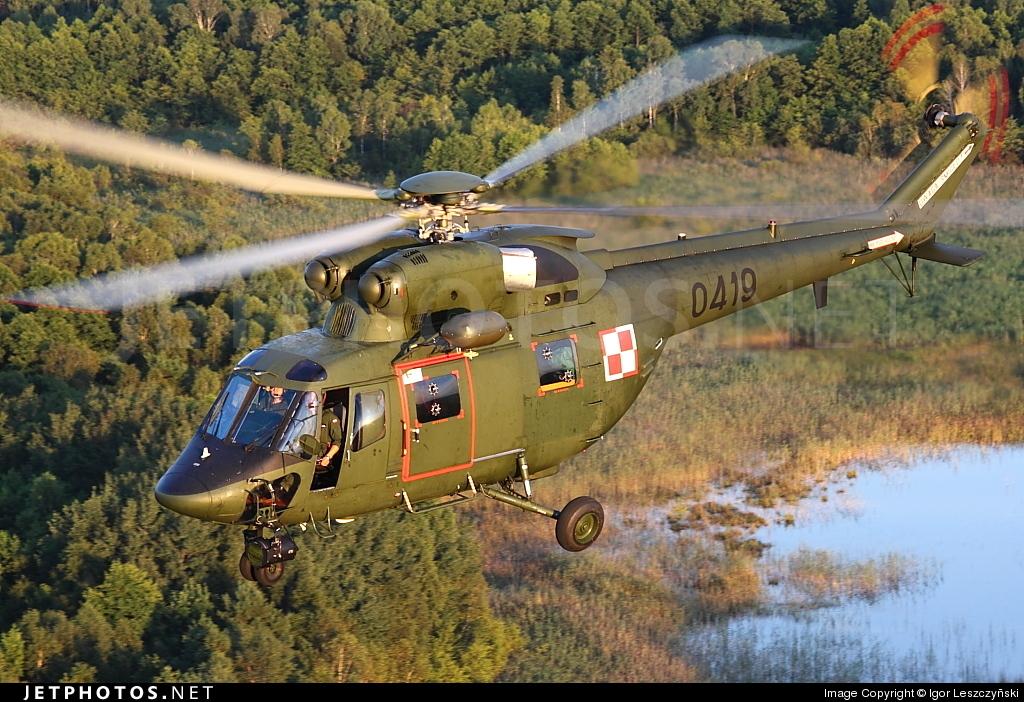 0419 - PZL-Swidnik W3RL Sokol - Poland - Air Force