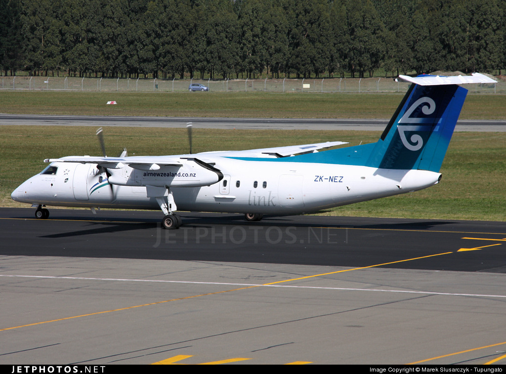 ZK-NEZ - Bombardier Dash 8-Q311 - Air New Zealand Link (Air Nelson)