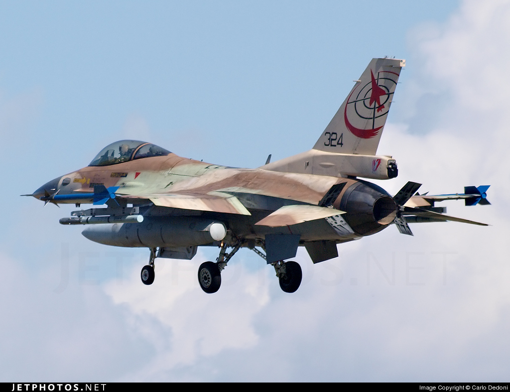 324 - Lockheed Martin F-16C Barak - Israel - Air Force