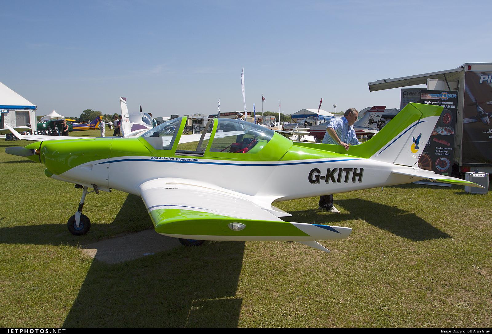 G-KITH - Alpi Pioneer 300 - Private