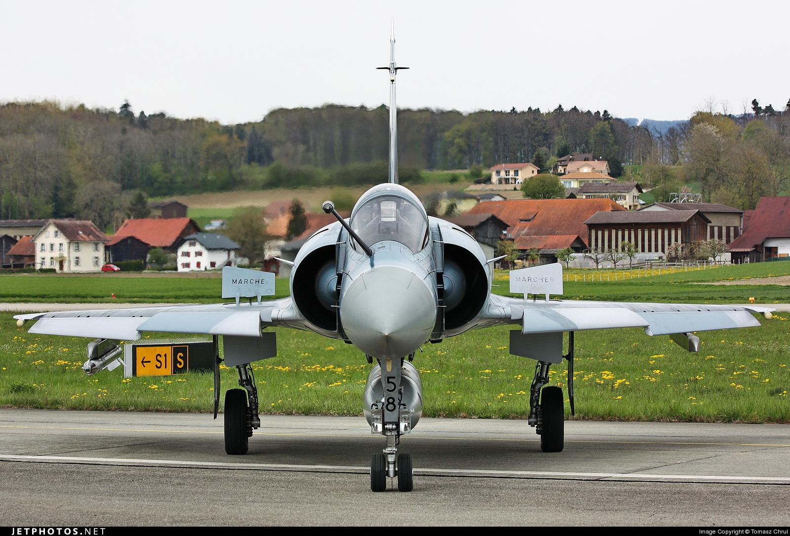 58 - Dassault Mirage 2000-5F - France - Air Force