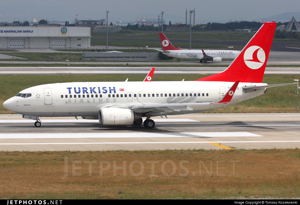 TC-JKO - Boeing 737-752 - Turkish Airlines