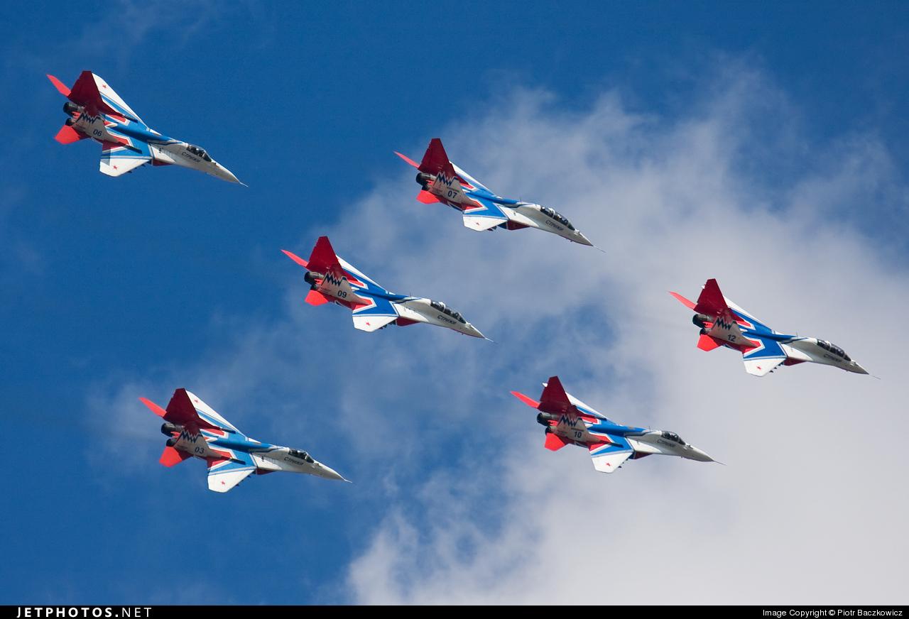 12 - Mikoyan-Gurevich MiG-29 Fulcrum - Russia - Air Force