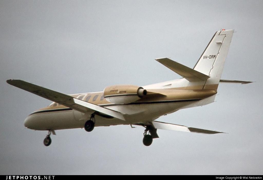 VH-DRM - Cessna 500 Citation - Private