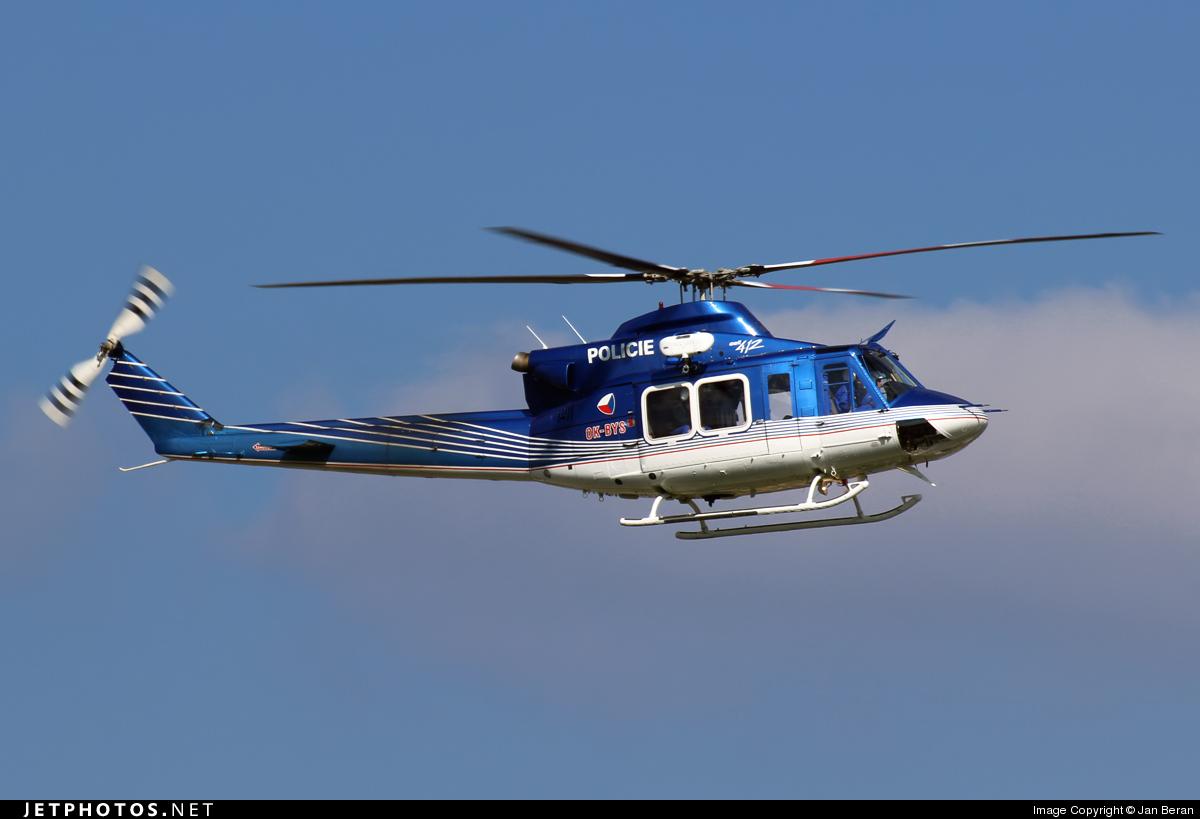 OK-BYS - Bell 412EP - Czech Republic - Police