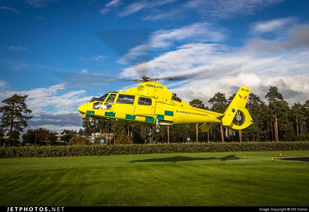 SE-JIA - Aérospatiale SA 365N3 Dauphin 2 - Scandinavian Air Ambulance