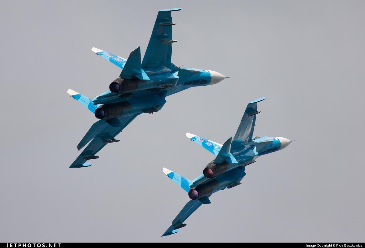 RF-92210 - Sukhoi Su-27 Flanker - Russia - Air Force