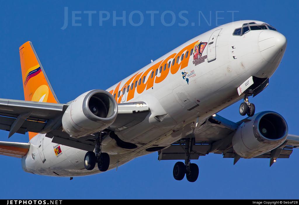 YV1007 - Boeing 737-322 - Conviasa