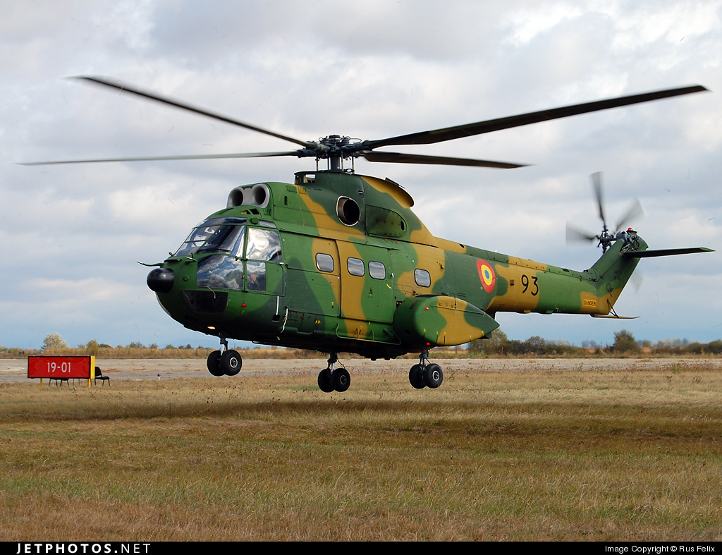 93 - IAR-330M Puma - Romania - Air Force