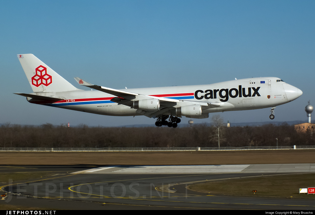 LX-TCV - Boeing 747-4R7F(SCD) - Cargolux Airlines International