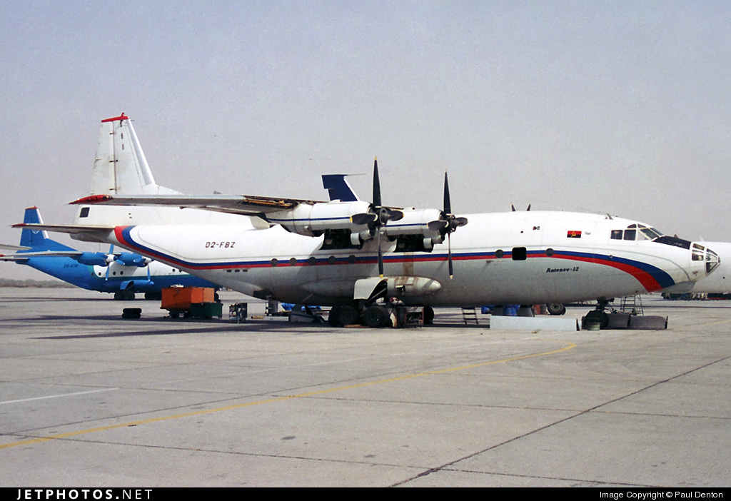 D2-FBZ - Antonov An-12BK - National Commuter Airlines