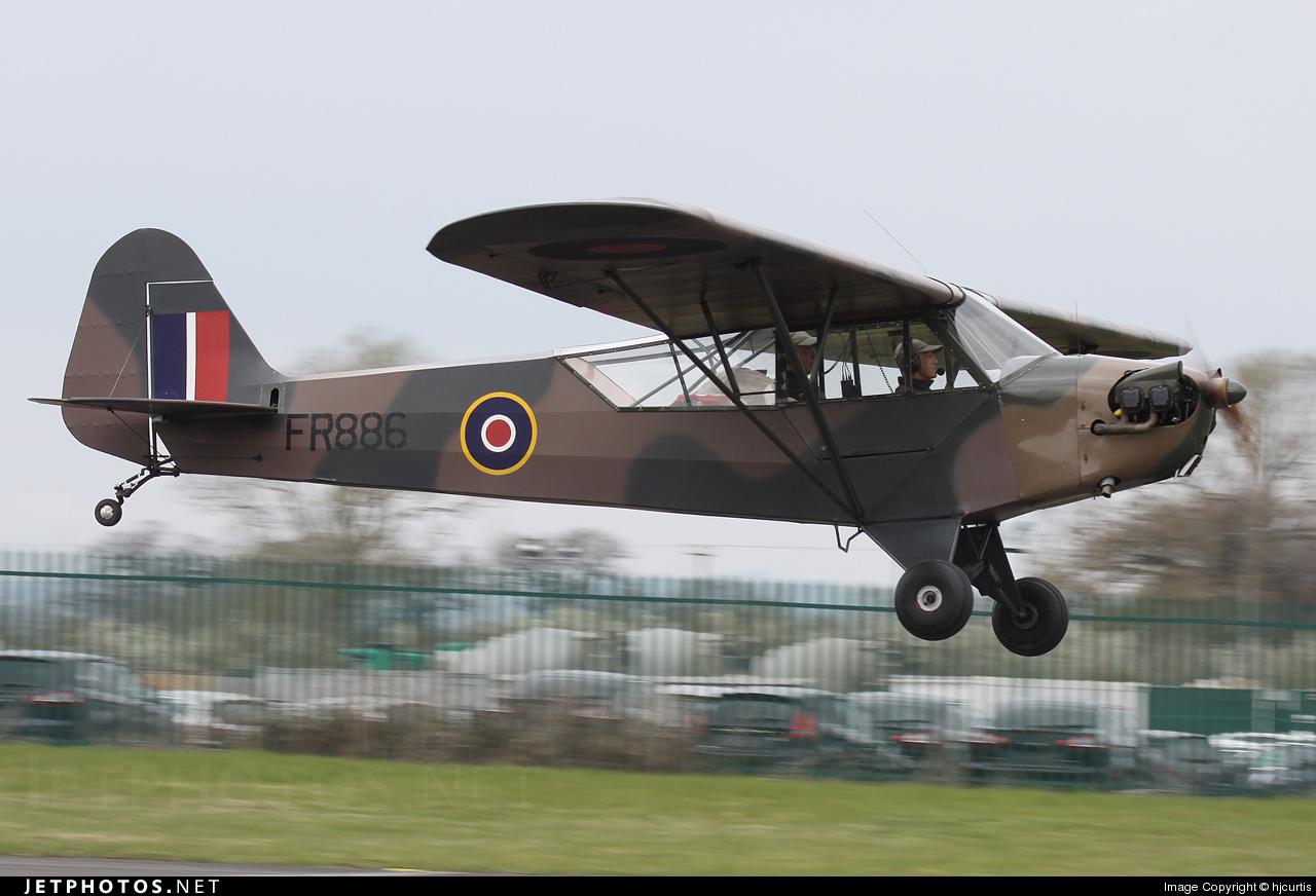 G-BDMS - Piper J-3C-65 Cub - Private