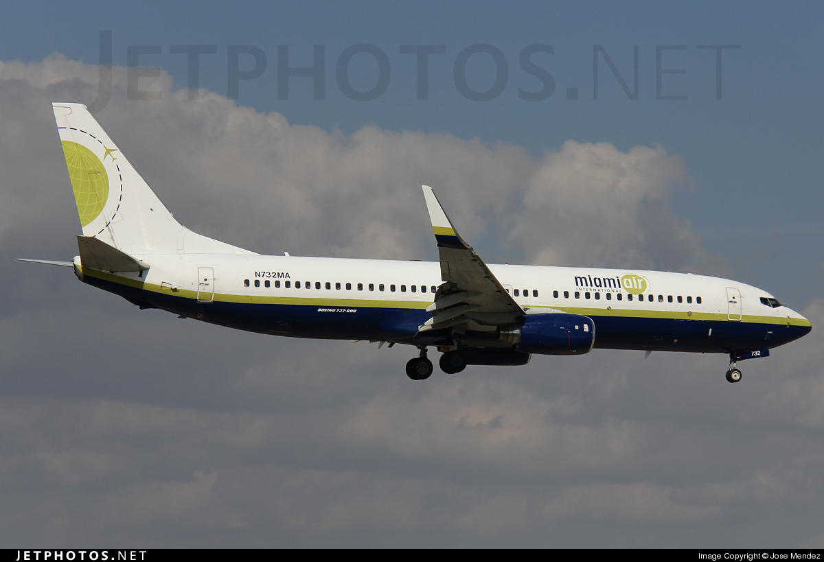 N732MA - Boeing 737-81Q - Miami Air International
