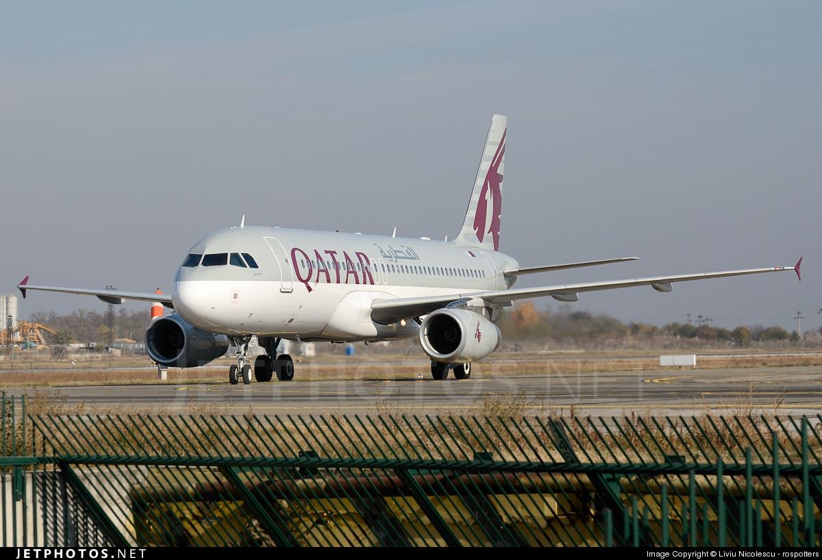 A7-AHE - Airbus A320-232 - Qatar Airways