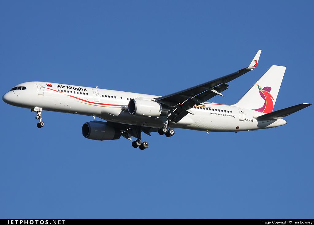 P2-ANB - Boeing 757-256 - Air Niugini