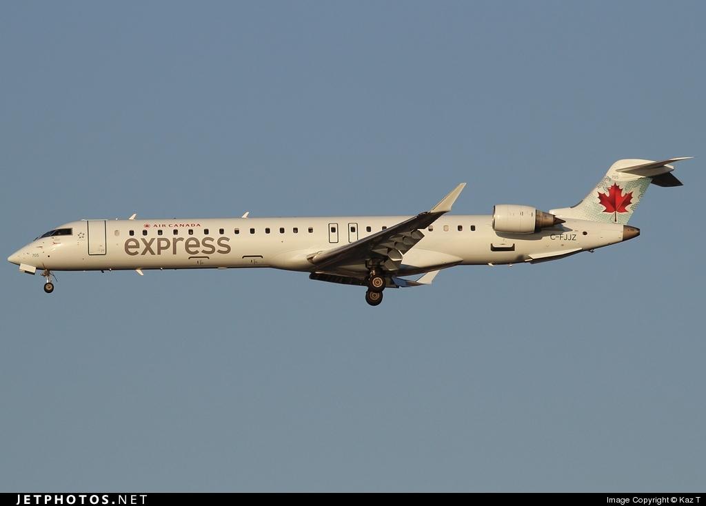 C-FJJZ - Bombardier CRJ-705LR - Air Canada Express (Jazz Aviation)