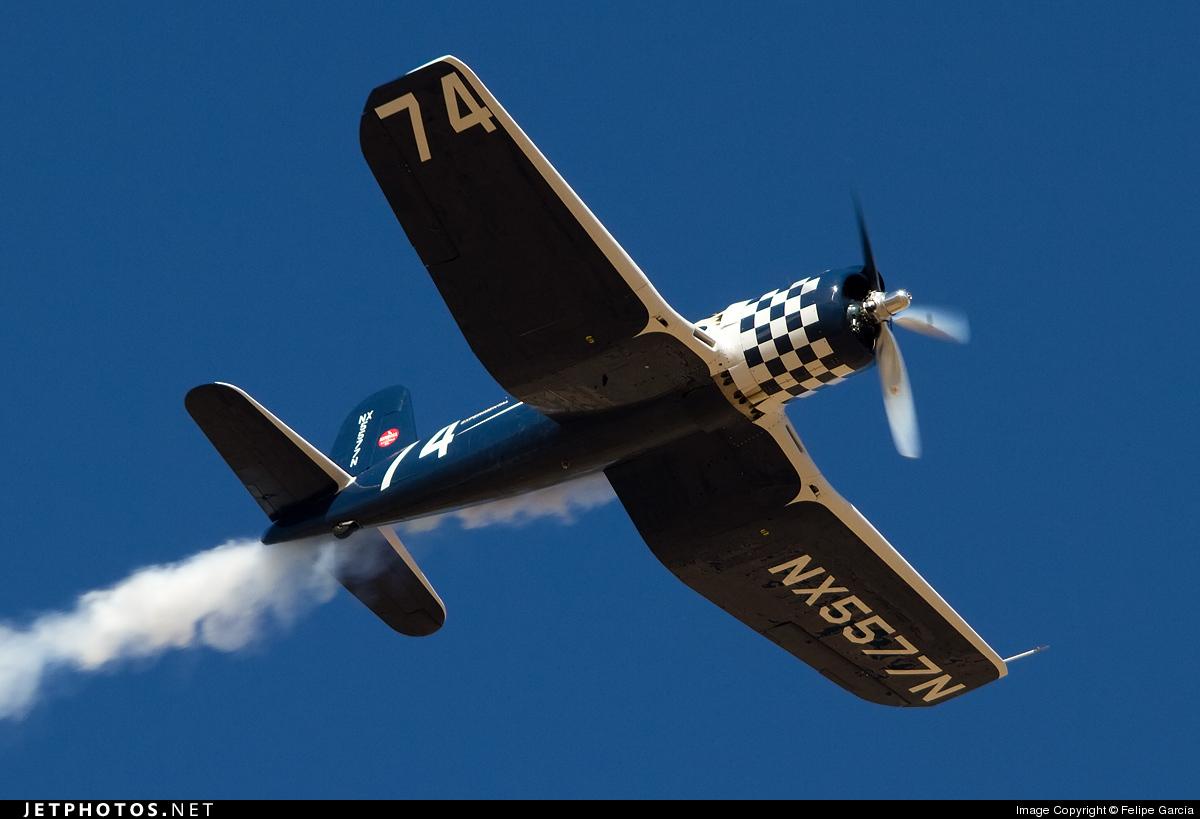 N5577N - Goodyear F-2G Corsair - Private