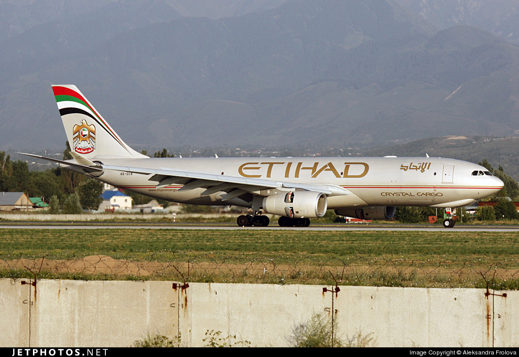A6-DCB - Airbus A330-243F - Etihad Crystal Cargo