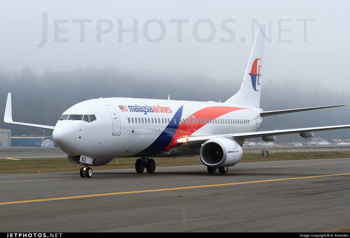 N5573K - Boeing 737-8H6 - Malaysia Airlines