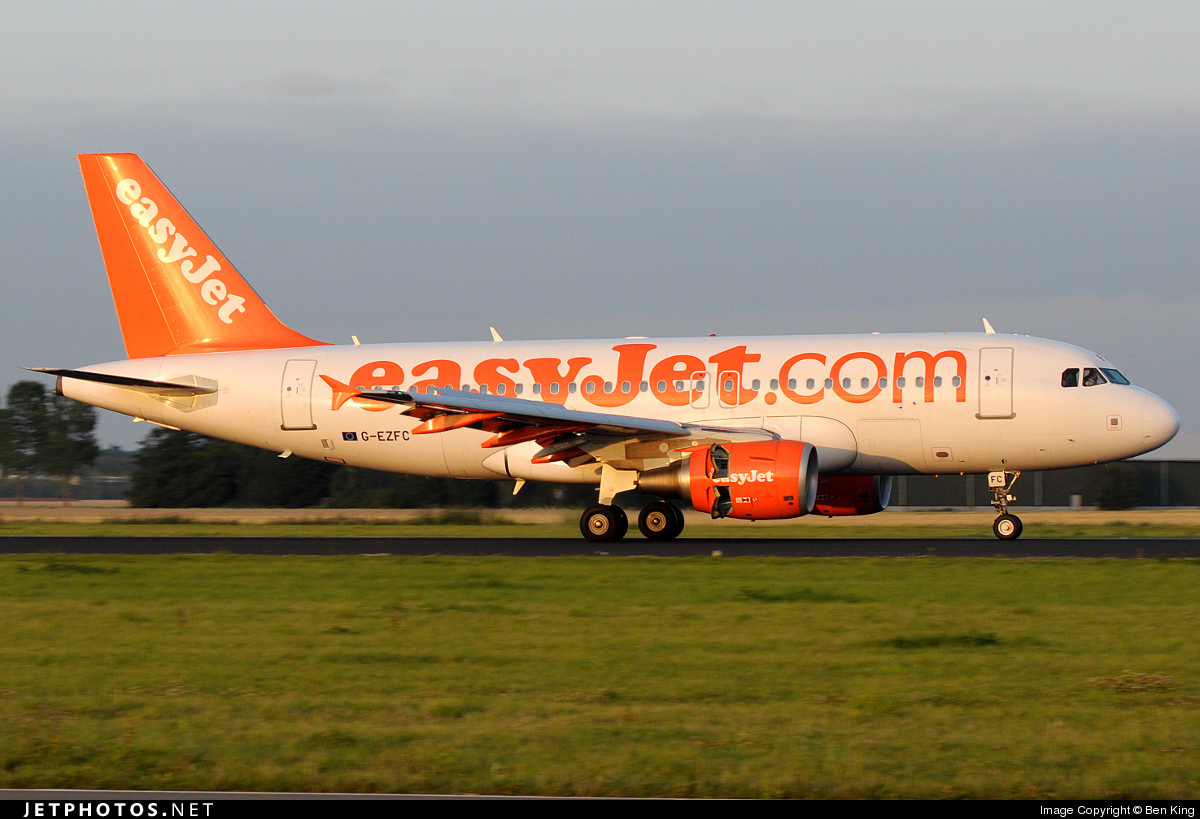 G-EZFC - Airbus A319-111 - easyJet