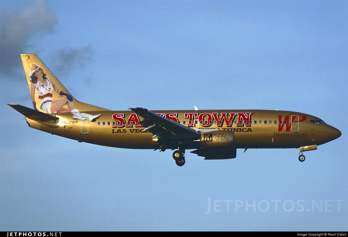 N956WP - Boeing 737-3Q8 - Western Pacific Airlines