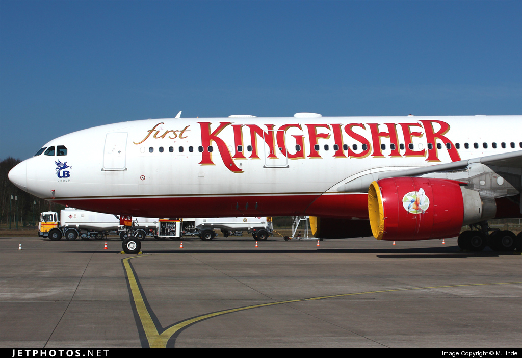 D-ALAA - Airbus A330-223 - Kingfisher Airlines