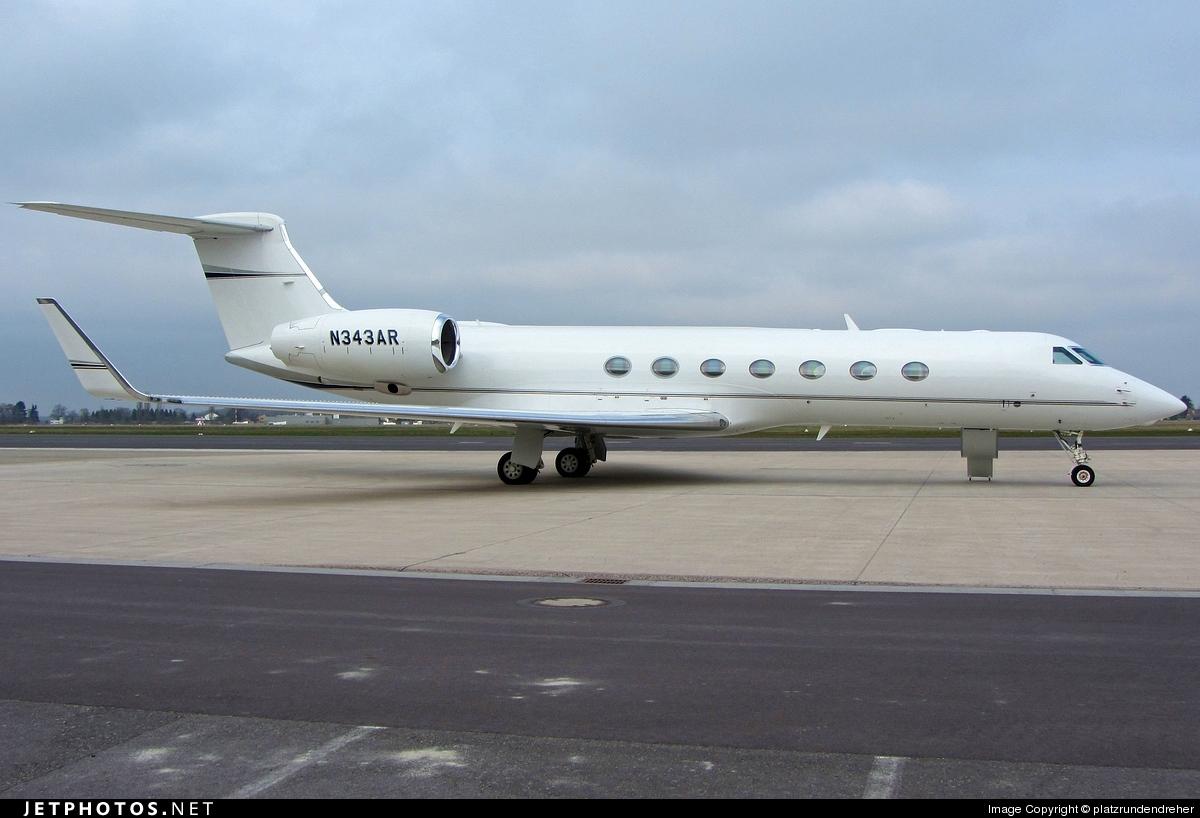 N343AR - Gulfstream G550 - Private