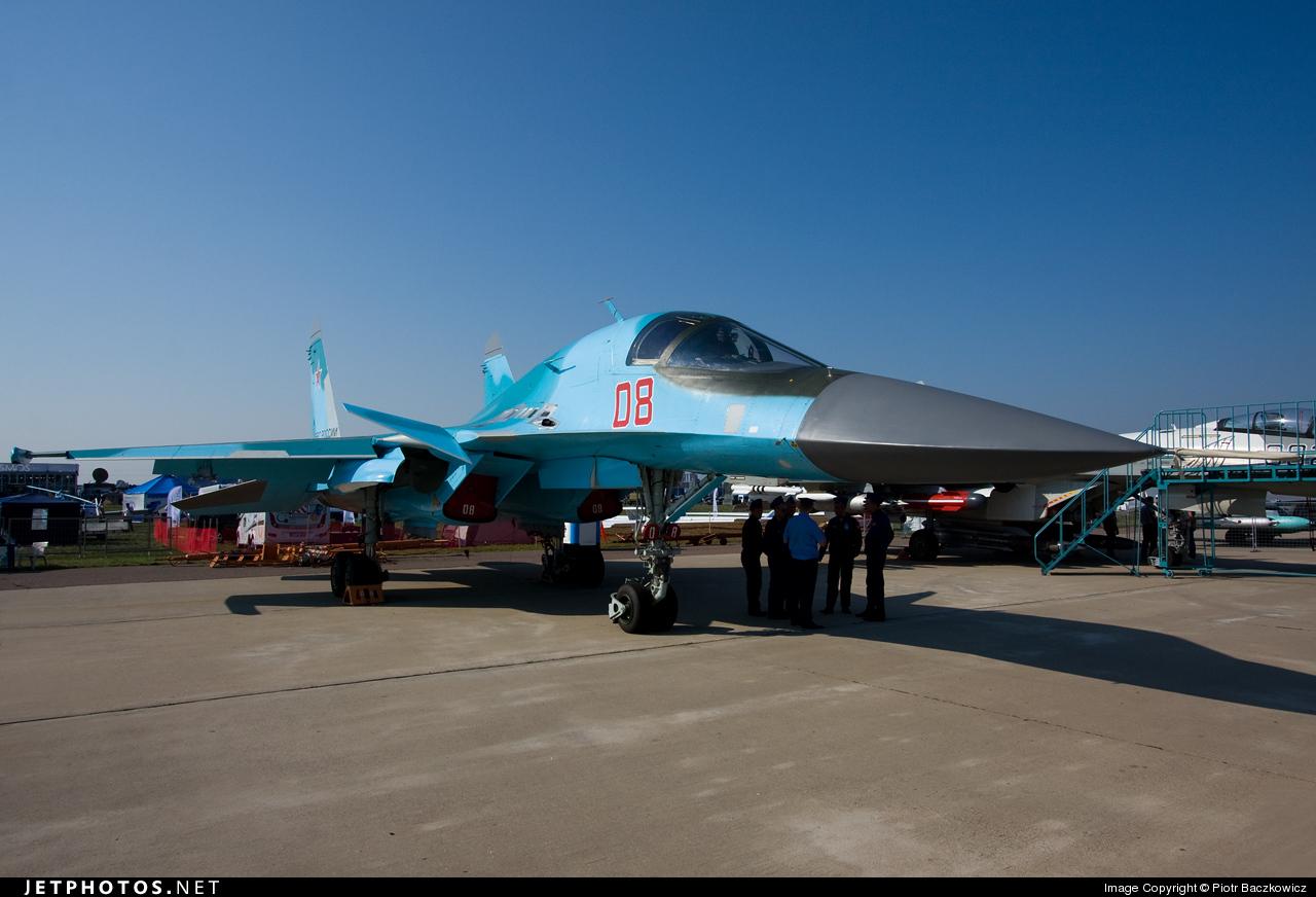 08 - Sukhoi Su-34 Fullback - Russia - Air Force