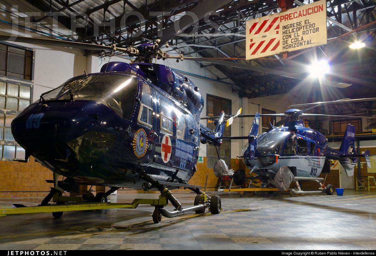 LQ-WJW - MBB BK117C-1 - Argentina - Police
