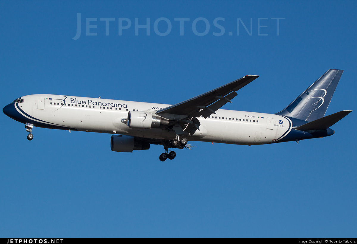 I-LLAG - Boeing 767-330(ER) - Blue Panorama Airlines
