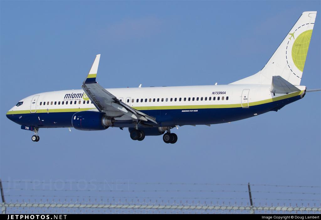 N733MA - Boeing 737-81Q - Miami Air International