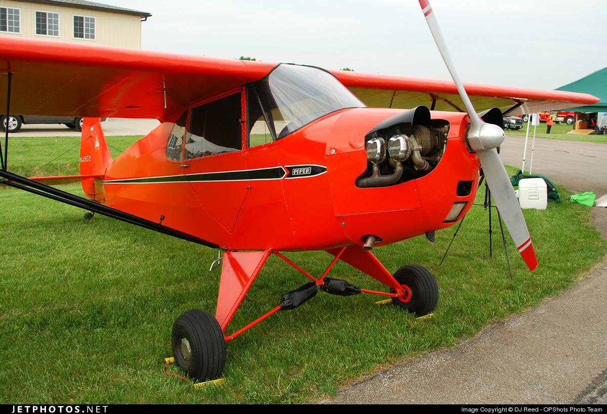 N40678 - Piper J-5A Cub Cruiser - Private