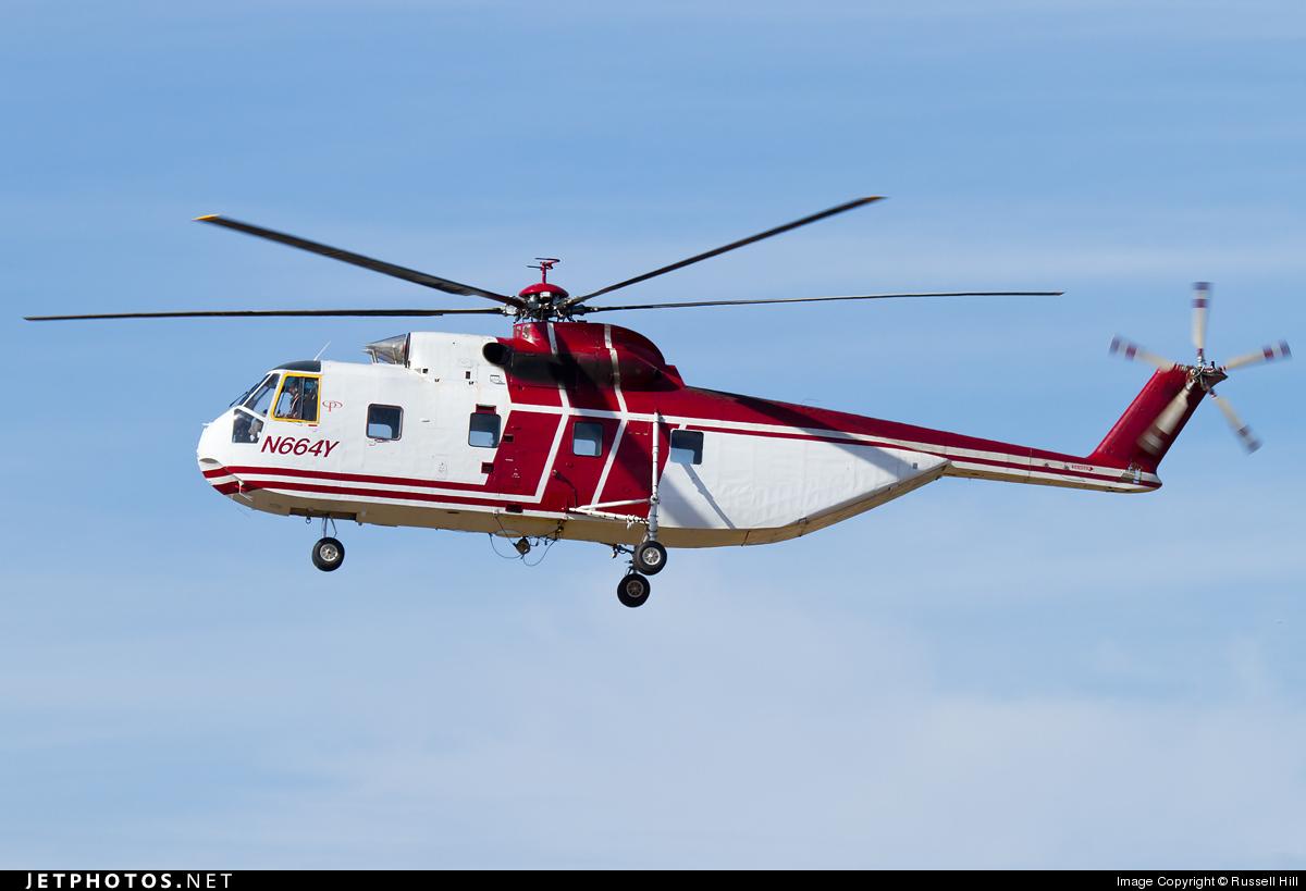N664Y - Sikorsky S-61R - Private