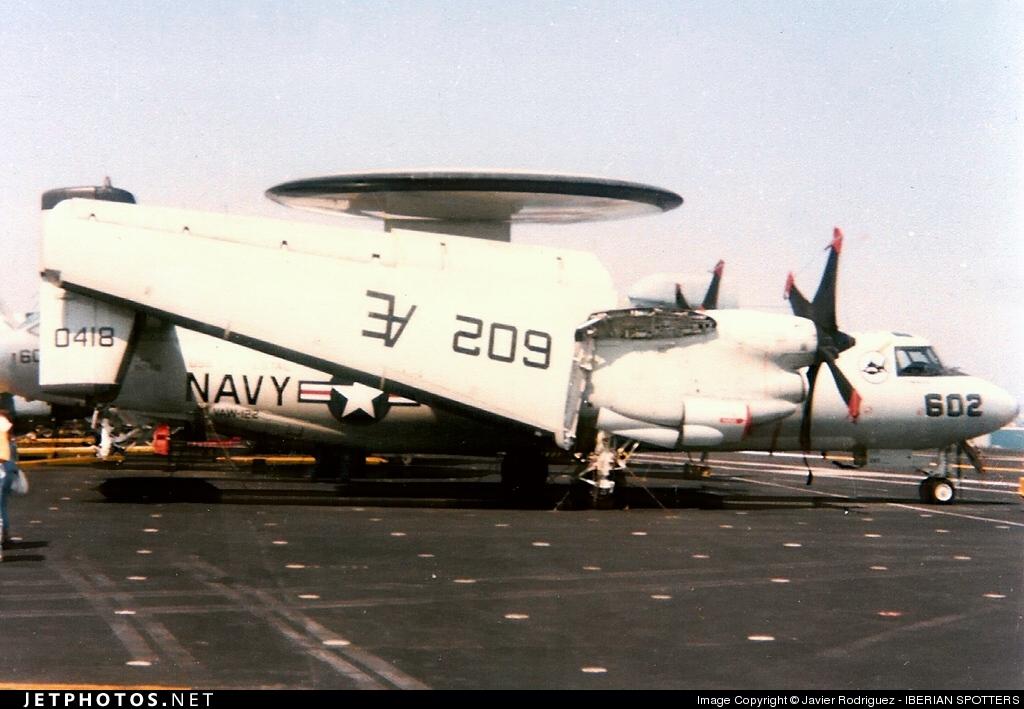 160418 - Grumman E-2C Hawkeye - United States - US Navy (USN)