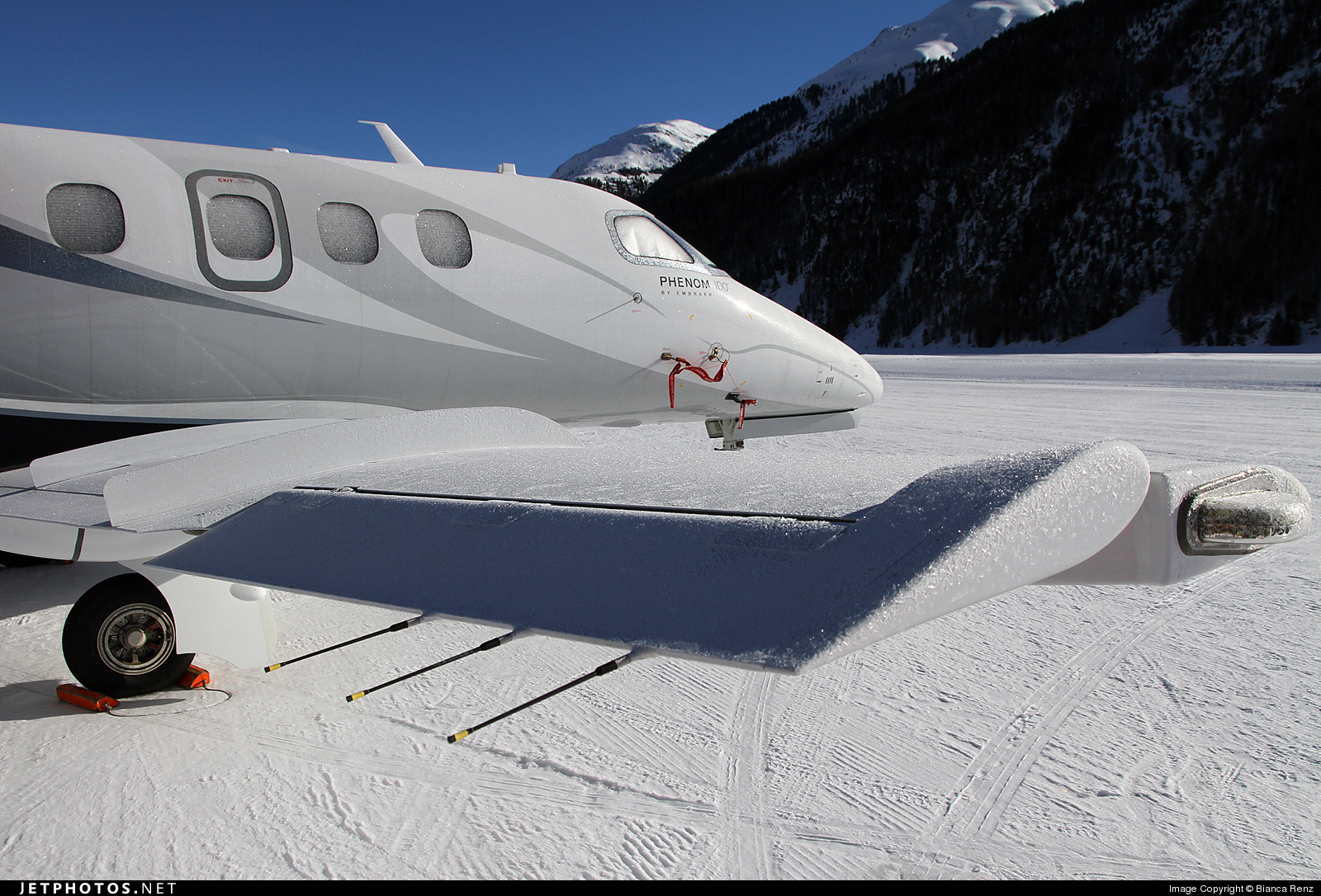 HB-VRV - Embraer 500 Phenom 100 - Private