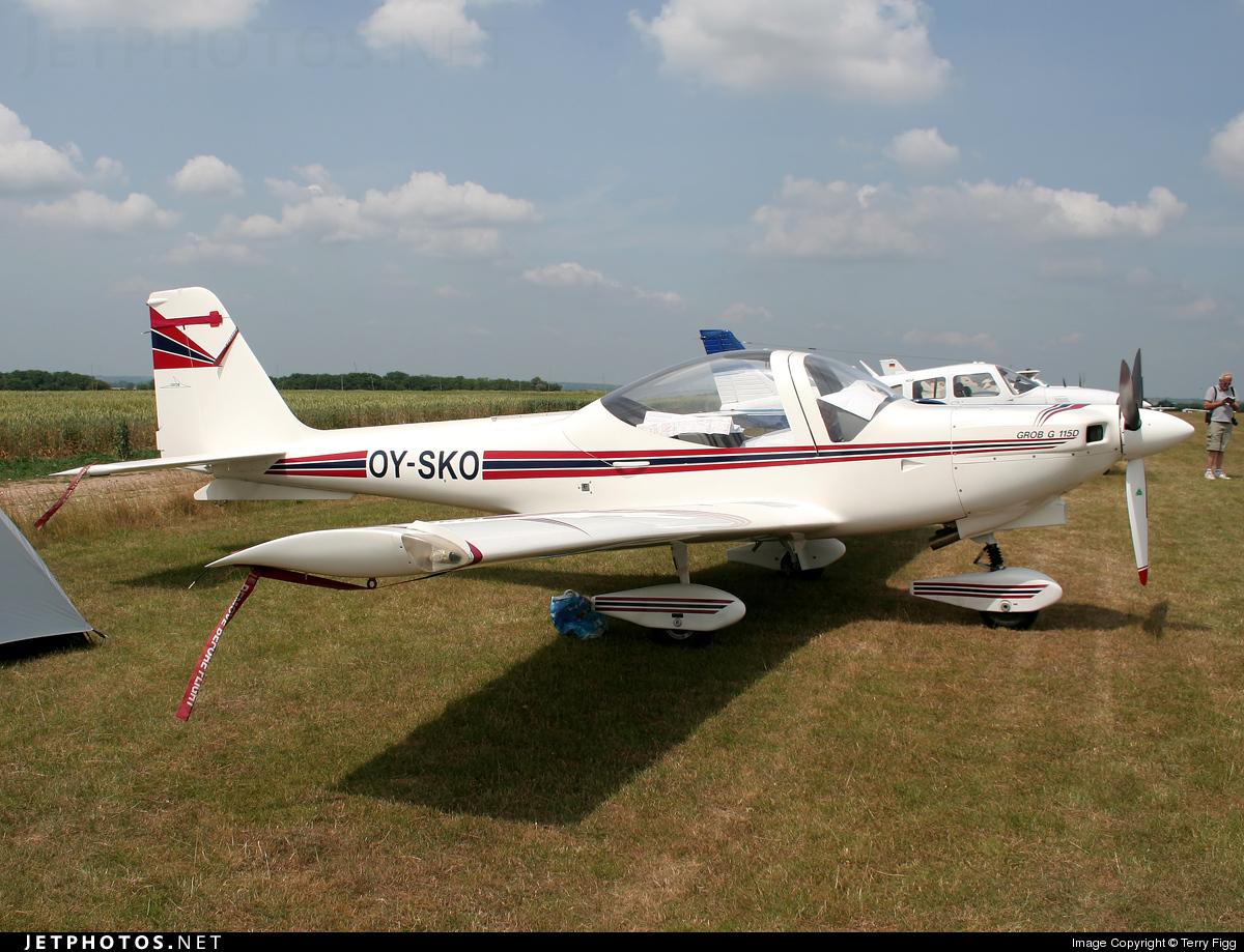OY-SKO - Grob G115D - Private