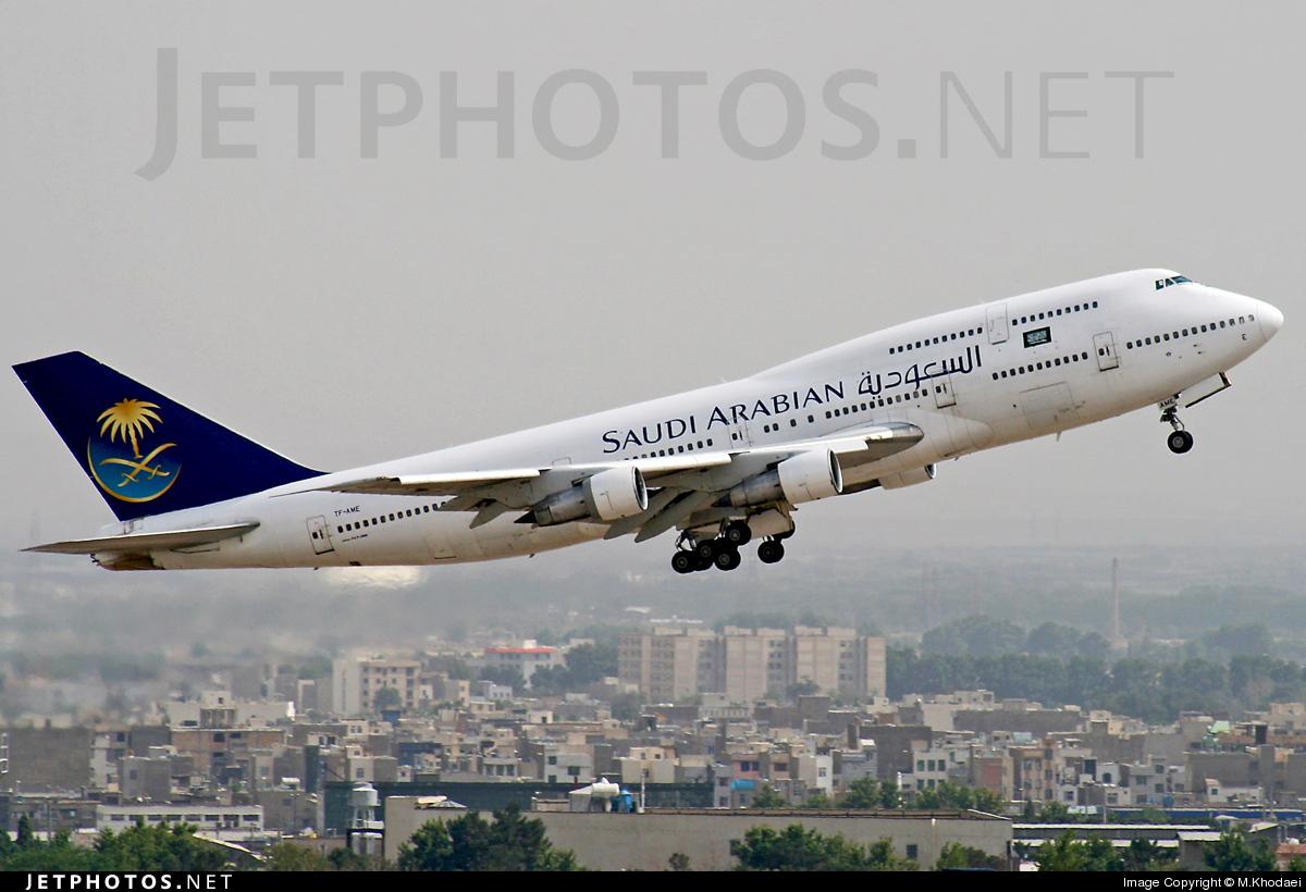 TF-AME - Boeing 747-312 - Saudi Arabian Airlines (Air Atlanta Icelandic)