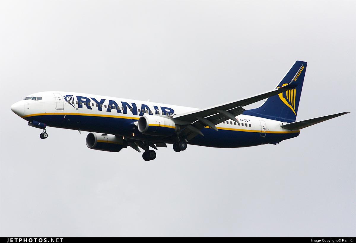 EI-DLZ - Boeing 737-8AS - Ryanair