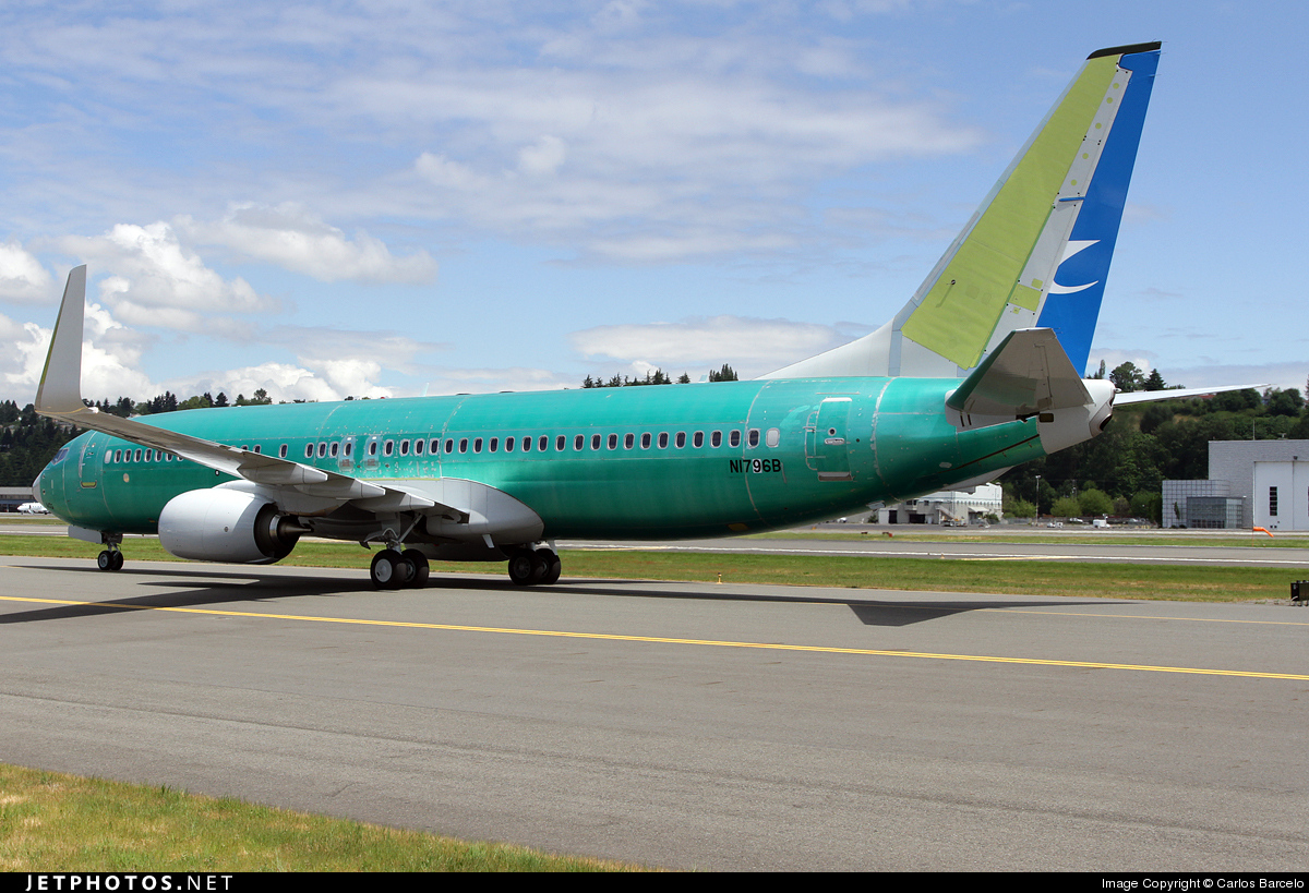 N1796B - Boeing 737-85C - Boeing Company
