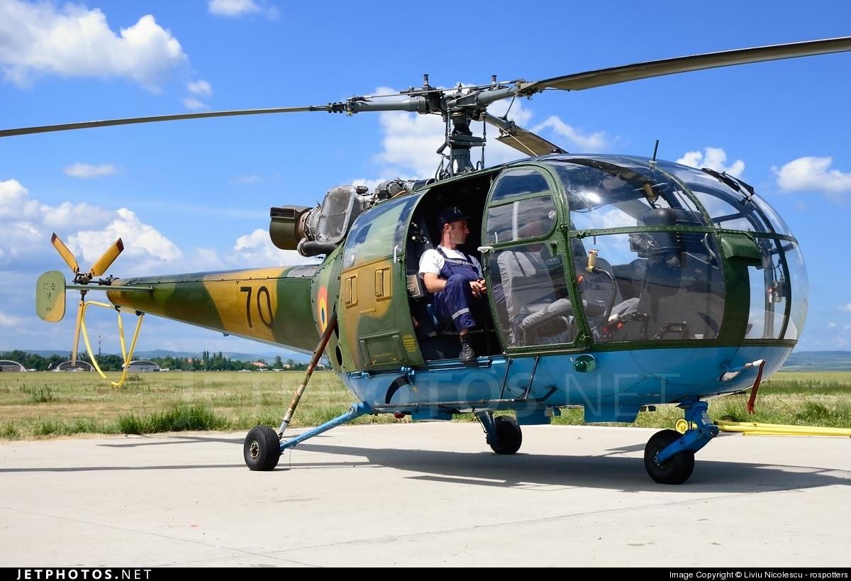70 - IAR-316B - Romania - Air Force