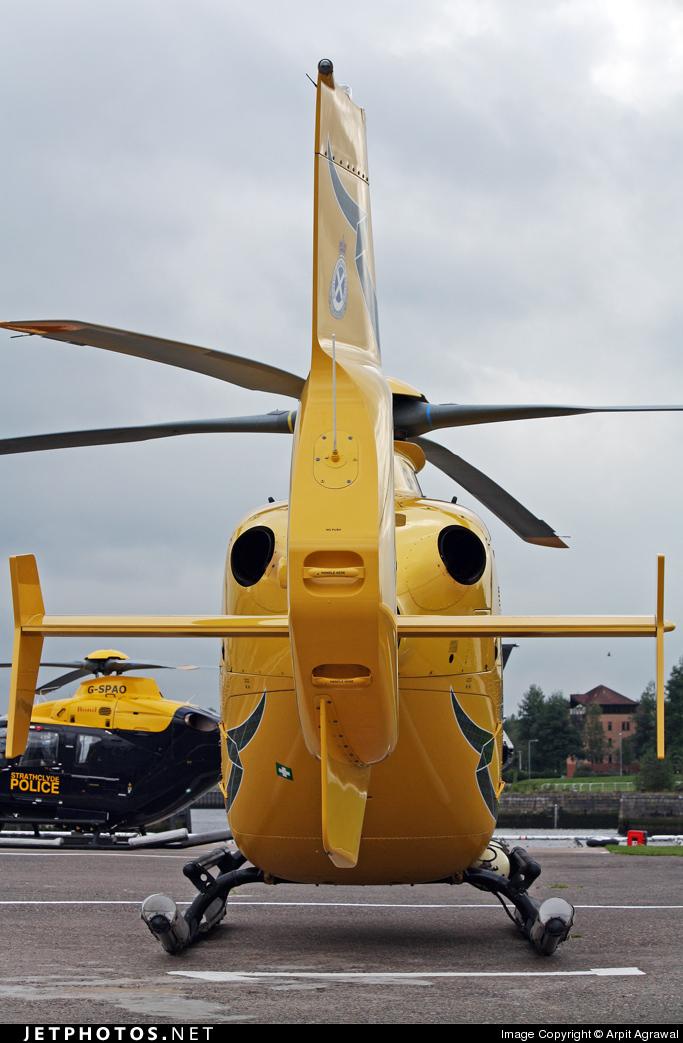 G-SASB - Eurocopter EC 135T2+ - Bond Air Services