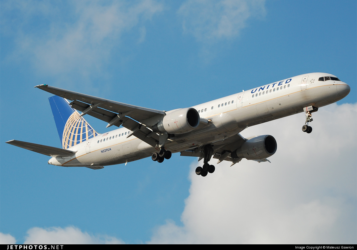 N529UA - Boeing 757-222 - United Airlines