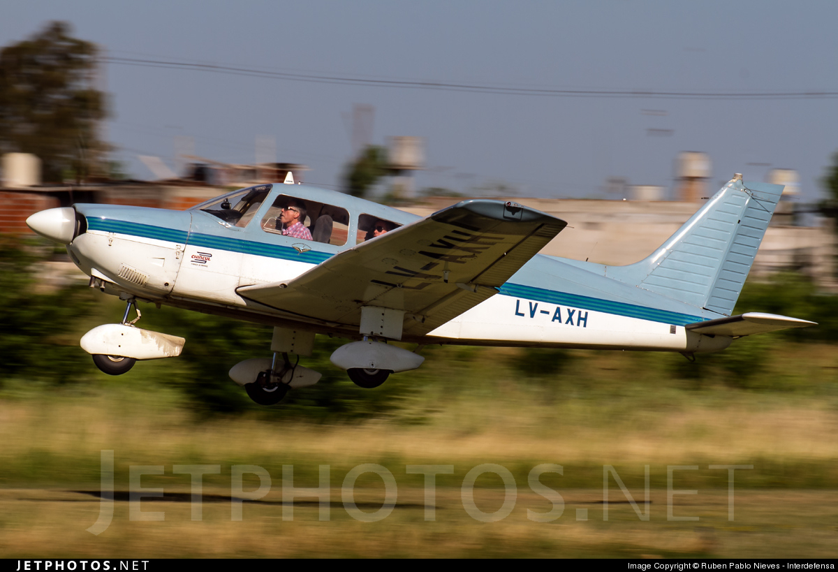 LV-AXH - Piper PA-28-181 Archer II - Private