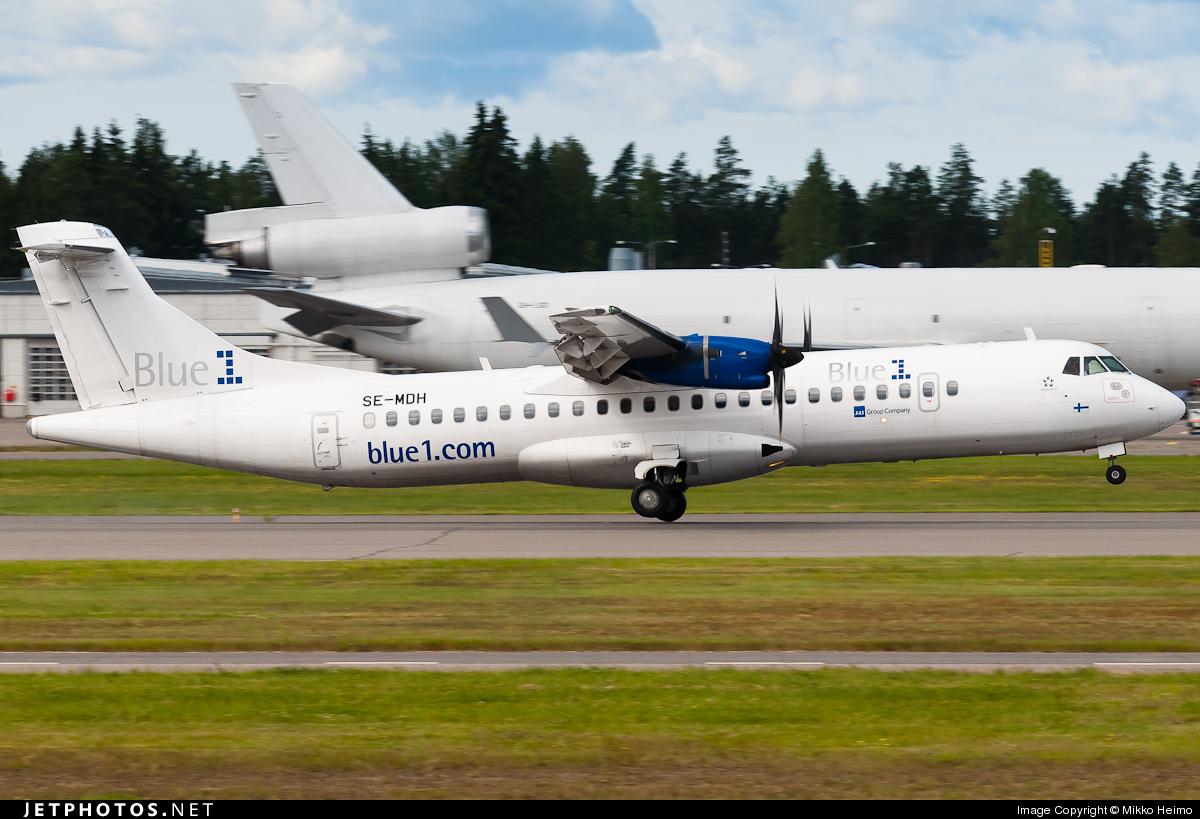 SE-MDH - ATR 72-212A(500) - Blue1 (Golden Air)