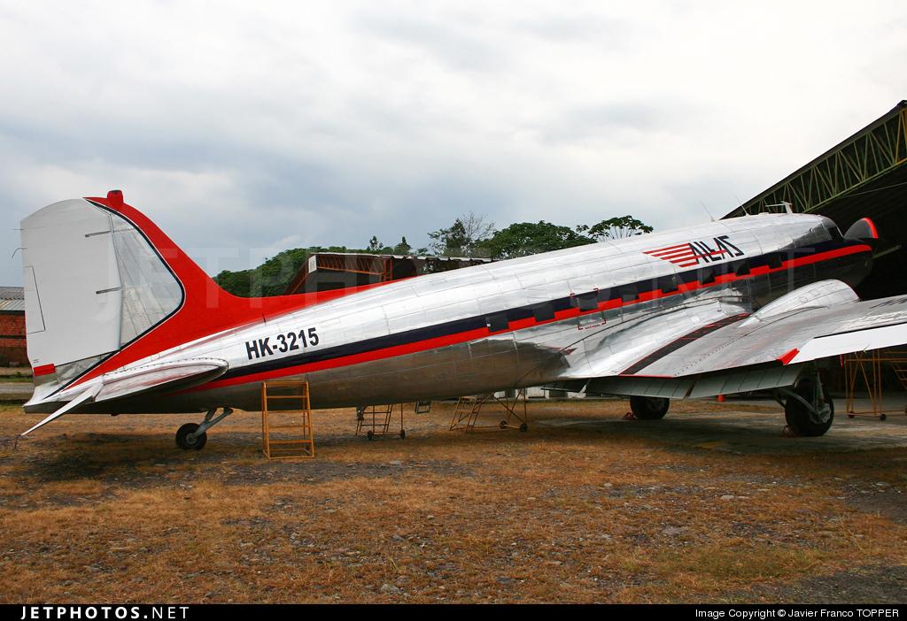HK-3215 - Douglas C-47B Skytrain - Allas
