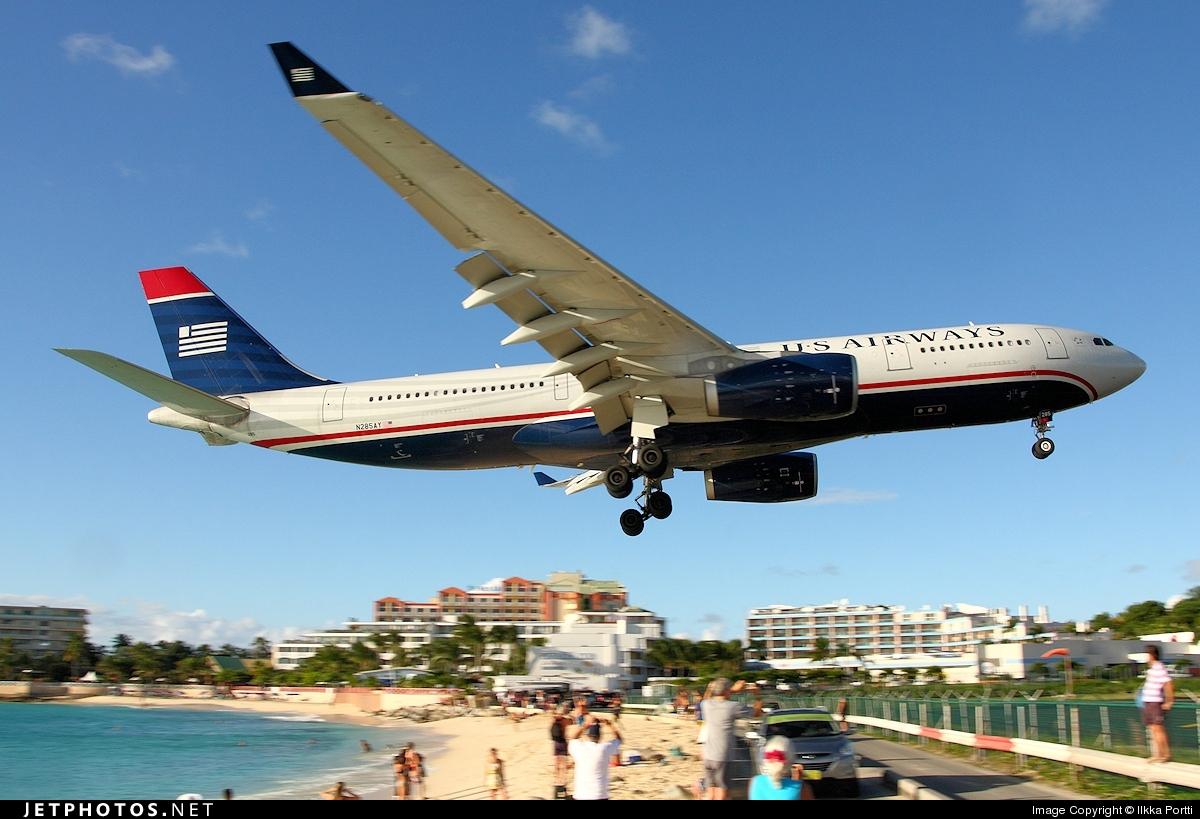 N285AY - Airbus A330-243 - US Airways
