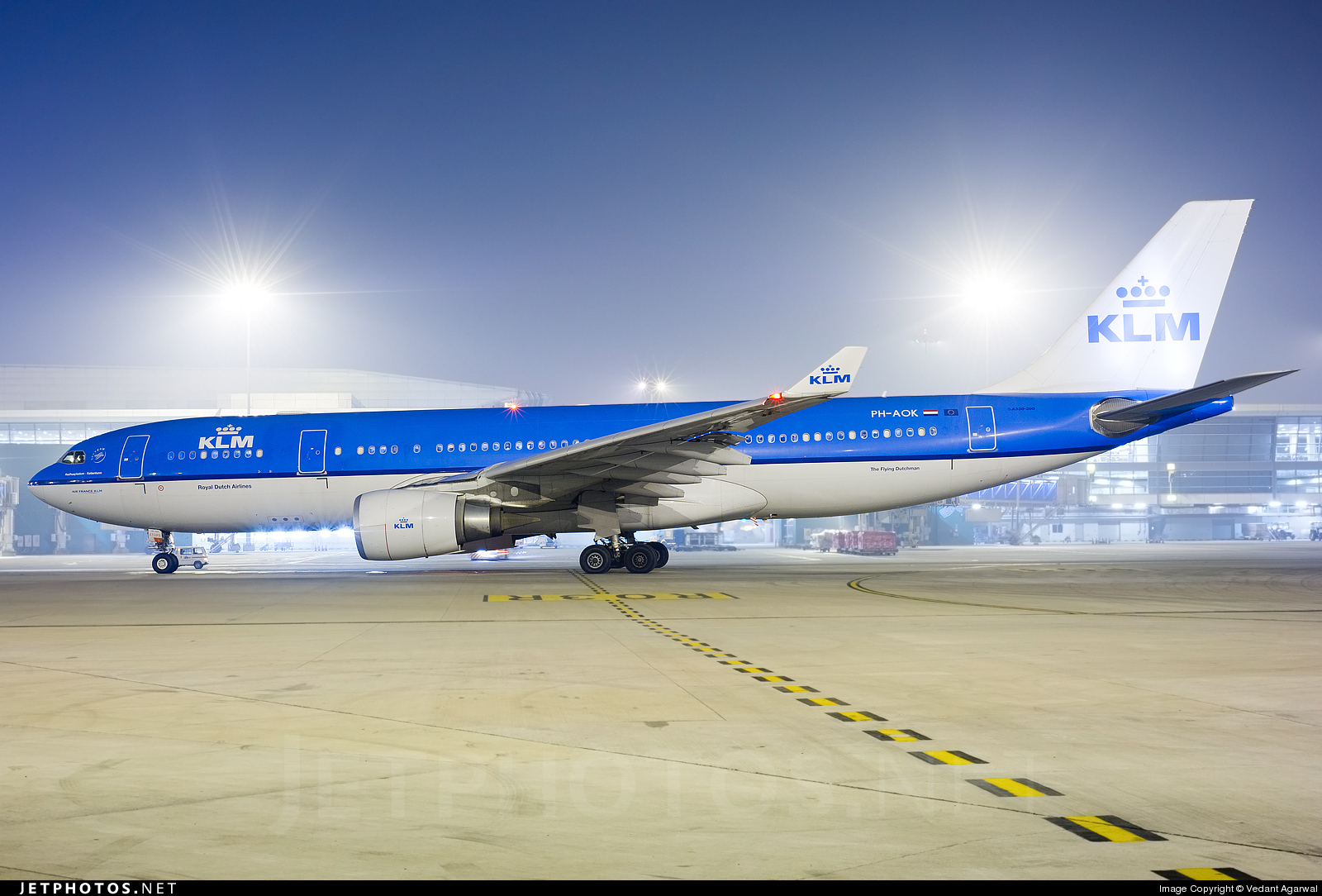 PH-AOK - Airbus A330-203 - KLM Royal Dutch Airlines
